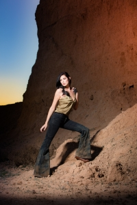 fashion photographer Ryan Walsh shoots Agency AZ model Lauren Mary for Diego Milano