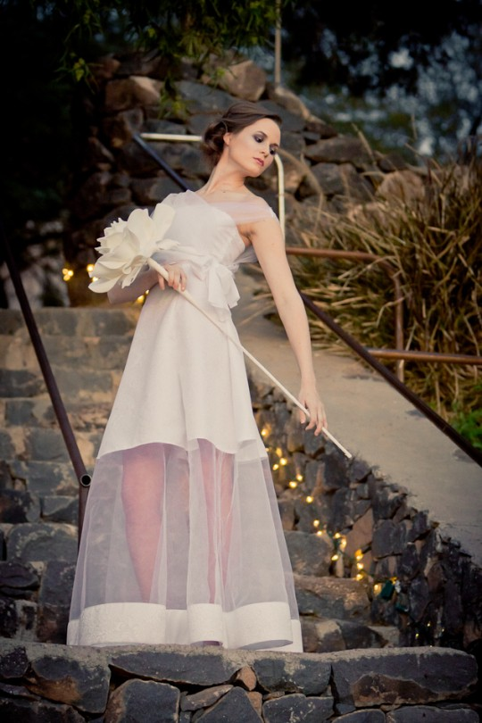 Wedding/Bridal Fashion image shot for designer Amelia Walsh