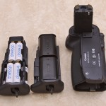 Canon BG-E11 Battery Grip, LP-E6 Magazines, AA Battery magazine