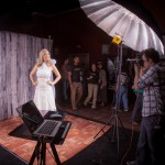 live bridal photoshoot at wppi 2013 savage universal