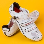 Bontrager carbon race lite clip less cycling shoes