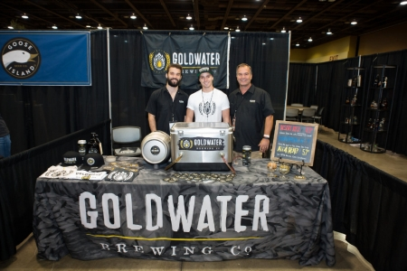Goldwater Brewery at Real Wild and Woody Craft Beer Festival 2015