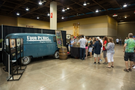 Four Peaks Brewery at Real Wild and Woody Craft Beer Festival 2015