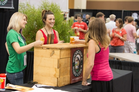 Woodchuck Cider at Real Wild and Woody Craft Beer Festival 2015